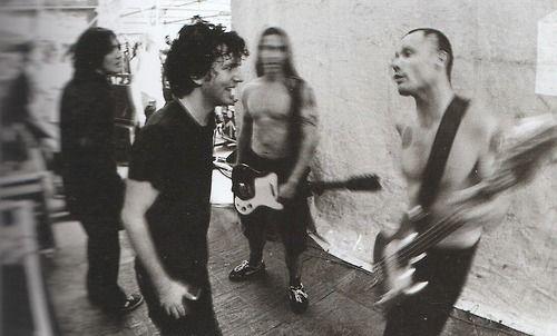 Eddie Vedder, Flea, Anthony Kiedis, John Frusciante