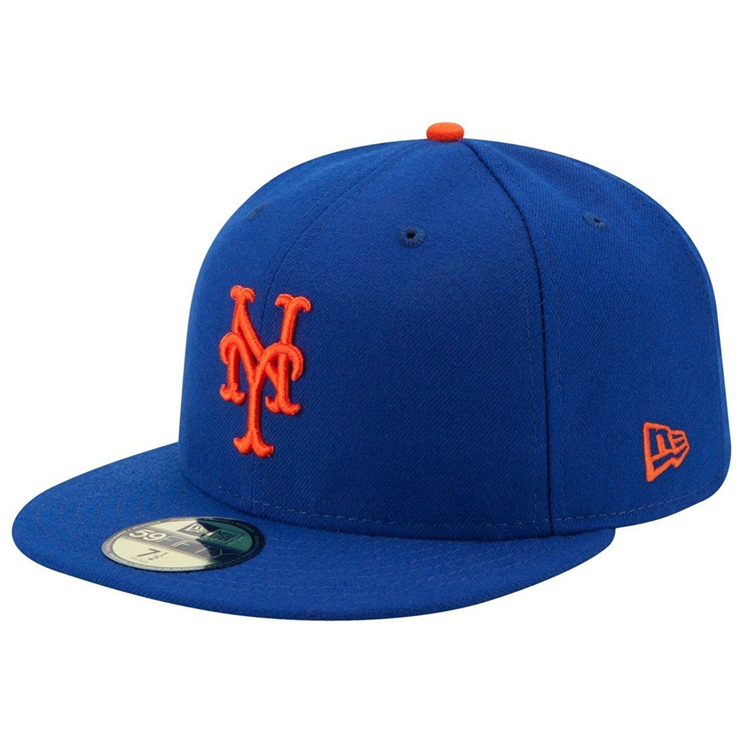 ny fitted cap blue
