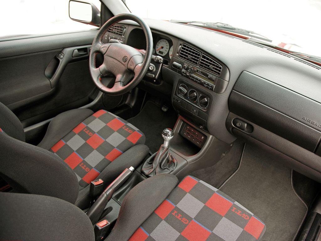 Interer Volkswagen Golf Gti 20 Jahre Typ 1h 1996 Carros