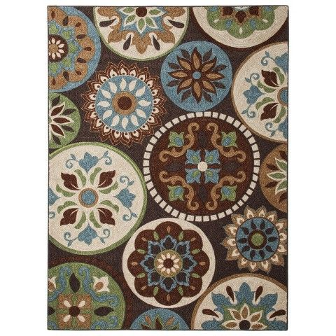 Attractive Maples Medallion Area Rug. Target. Need An Area Rug In The Living Room So