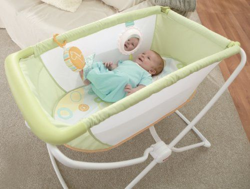 Fisher-Price Baby Portable Bassinet Rock n Play Bassinets Nursery ...