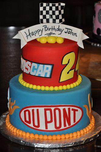 Jeff Gordon Baby Nascar Cake Nascar Party Celebration Cakes