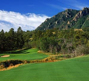 The Broadmoor Mountain Course - Currently undergoing renovations by Nicklaus Design.
