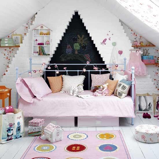 Kinderzimmer Wohnideen Möbel Dekoration Decoration Living Idea Interiors  Home Nursery   Mädchen Märchen Schlafzimmer