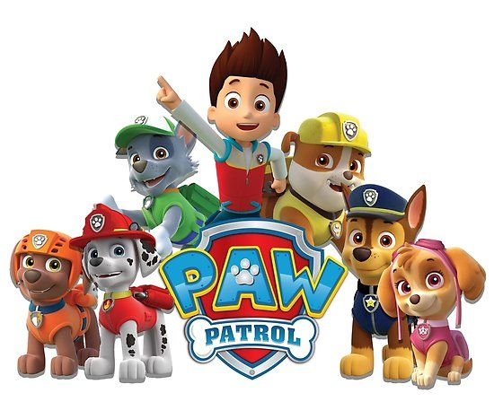 'Paw Patrol' Poster by CUSHTYCLOTHING - Paw patrol stickers, Paw patrol characters, Paw patrol printables, Paw patrol badge, Paw patrol birthday, Paw patrol - Paw Patrol fun kids cartoon clothing • Millions of unique designs by independent artists  Find your thing