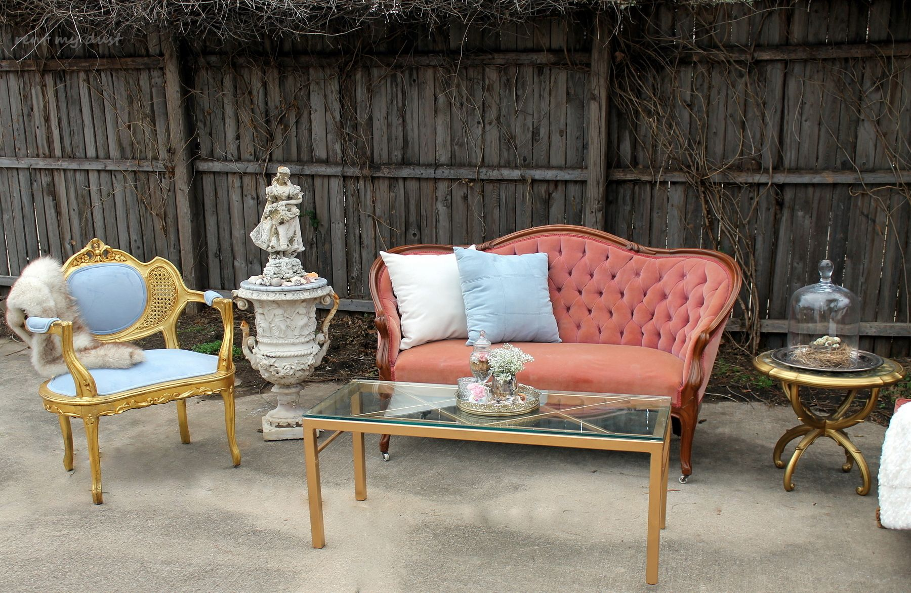 Rent My Dust Vintage Lounge Areau0027s For Your Wedding!   Blog   RENT MY DUST Vintage  Rentals. This Is For The Pink Bride Or Shabby Chic Bride Featuring Our ...