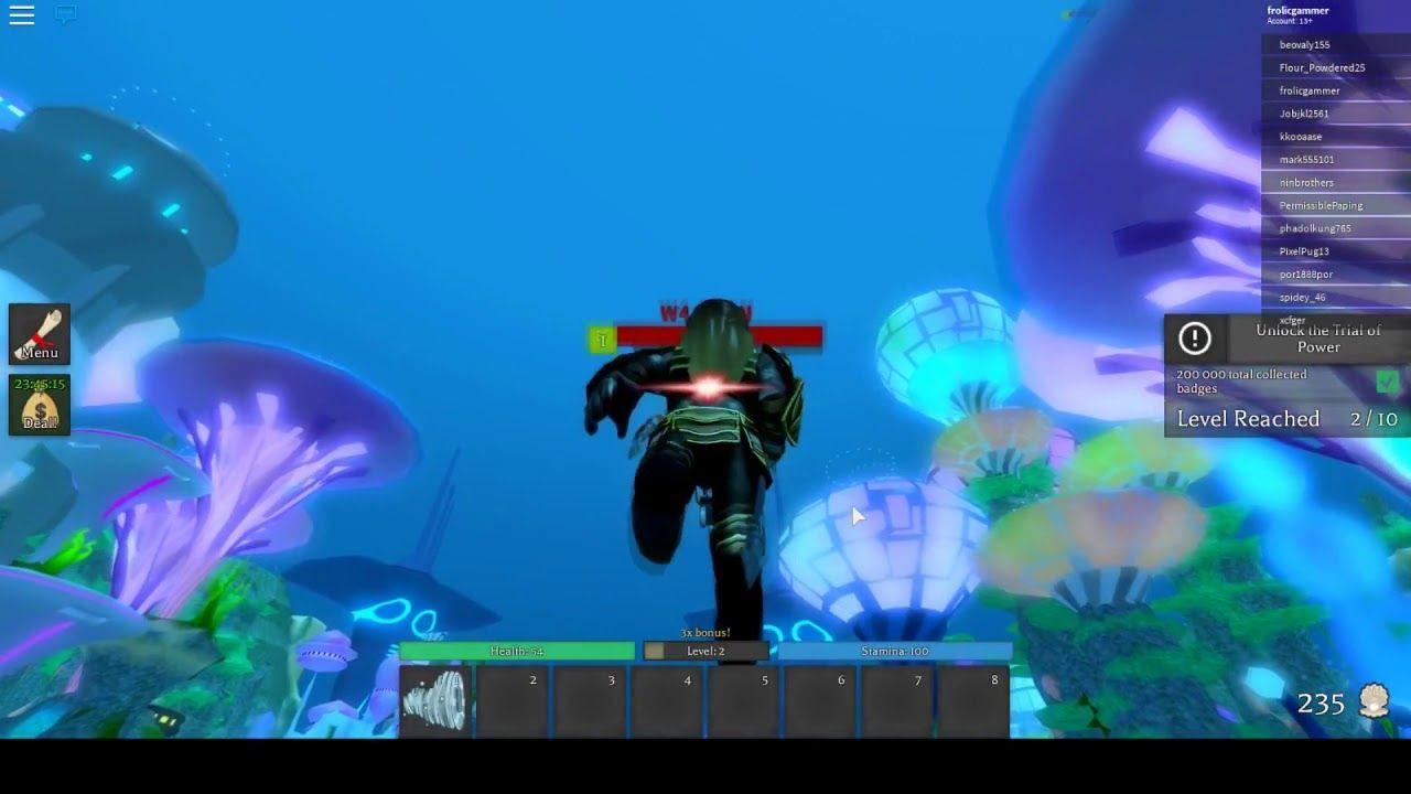Roblox Aquaman Home Is Calling เก บเลเวล ฉากเกมสวยมาก Ep1