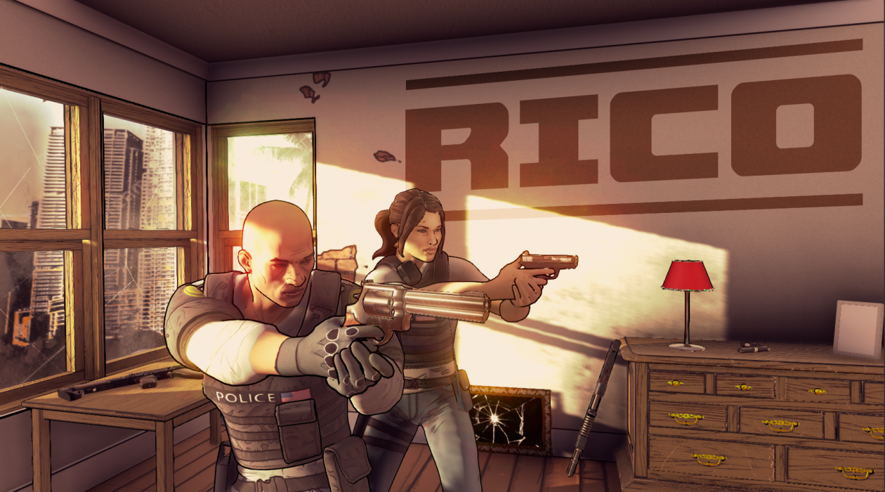 """Buddy Cop Coop Shooter """"RICO"""" Launches Next Week for PC"""