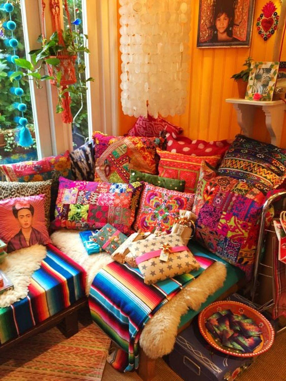 inspiring boho style home decor ideas 25 bohemian style decor home decor bohemian living room on hippie kitchen ideas boho chic id=79458