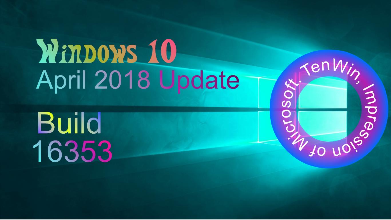 Windows 10 Build 16353 Handwriting recognition, Windows