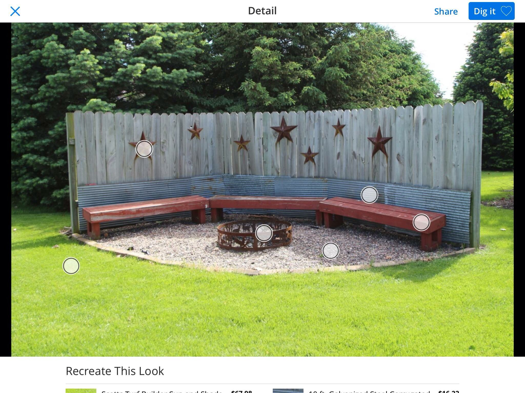 patio wind block ideas Fire pit + wind block | Yard ideas | Fire pit backyard