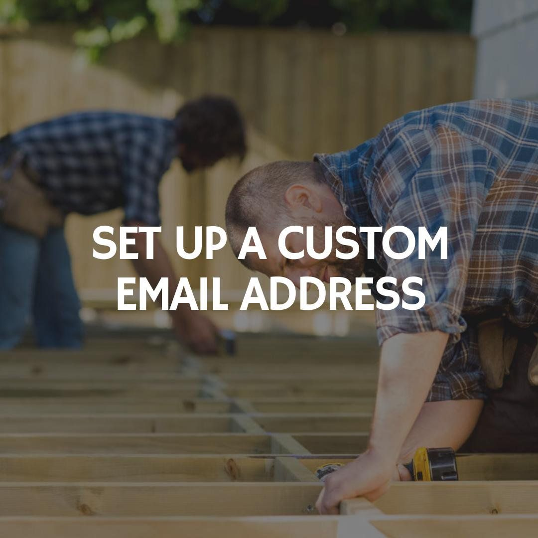 Landscaping Business Ideas Tips How To Set Up A Custom Email Address For Your Business Roofing Business Lawn Care Business Landscaping Business
