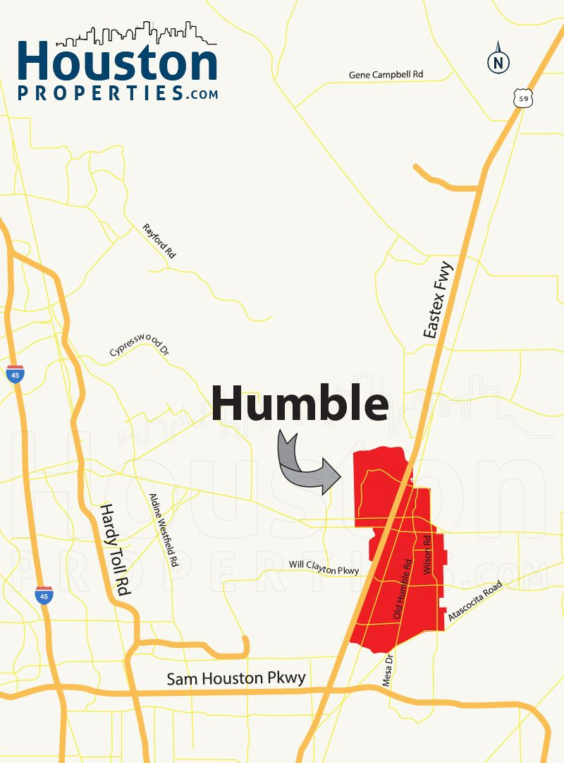 Humble TX Location Map Great Maps Of Houston Pinterest