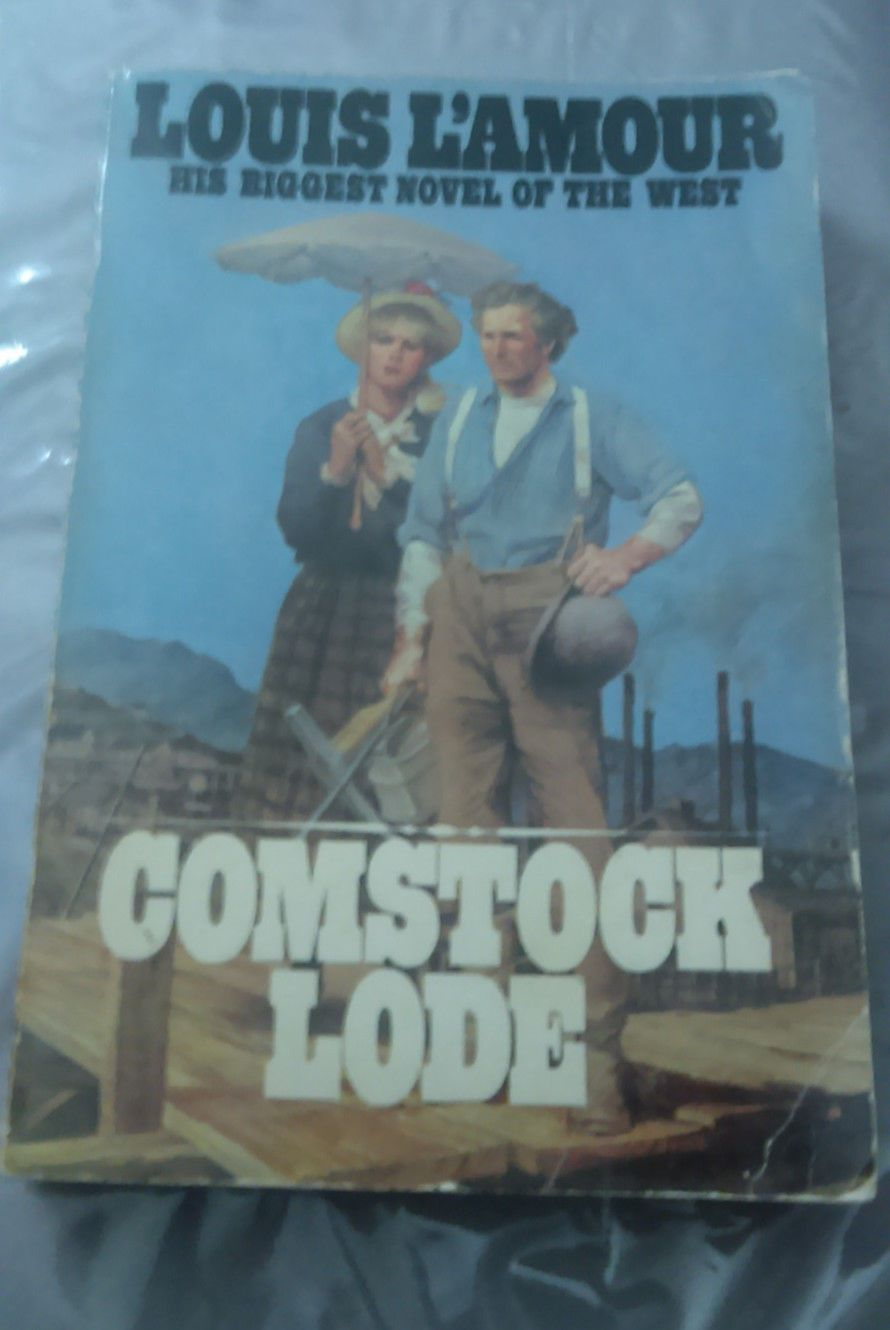Comstock lode by louis l amour paperbook good condition