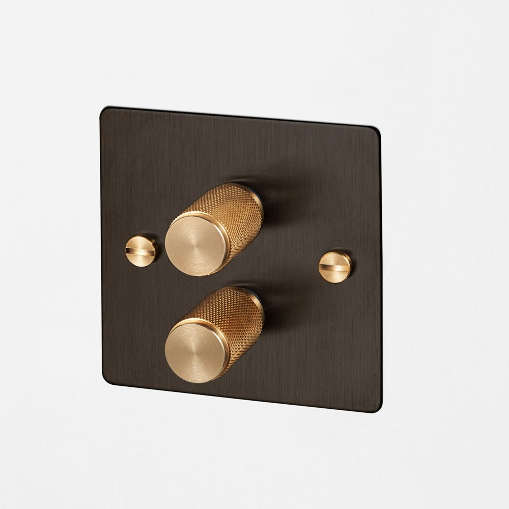 2g Dimmer All Finishes Buster Punch Bronze Light Switch