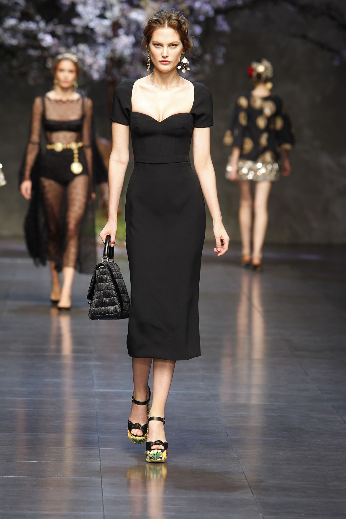 Dolce And Gabbana Style Dress