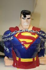 SUPERMAN COOKIE JAR - WARNER BROTHERS STUDIO STORE - 1997