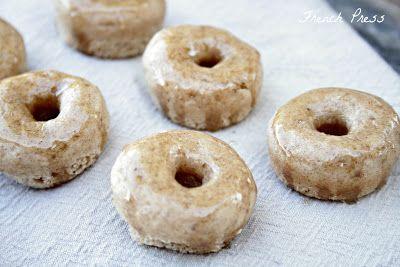 French Press: Skinny {mini} Apple Cider Doughnuts