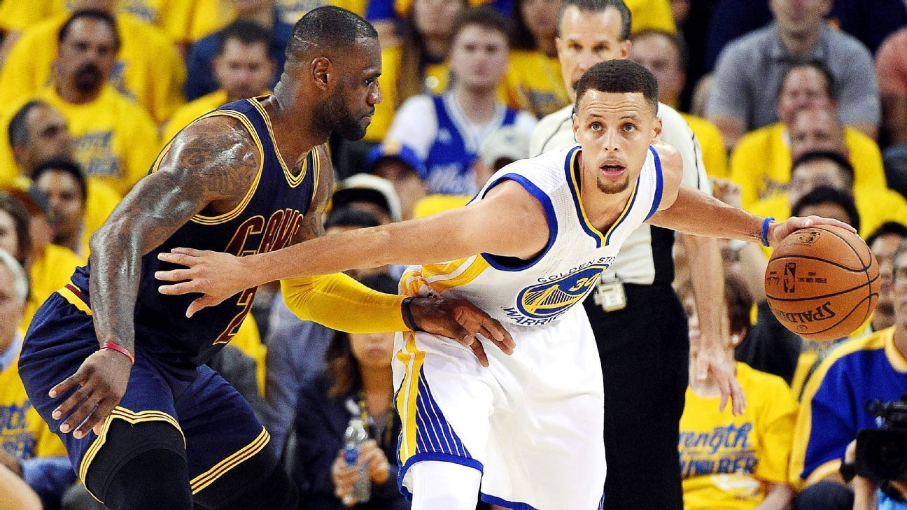 Is it Steph's world? LeBron hungry to change narrative
