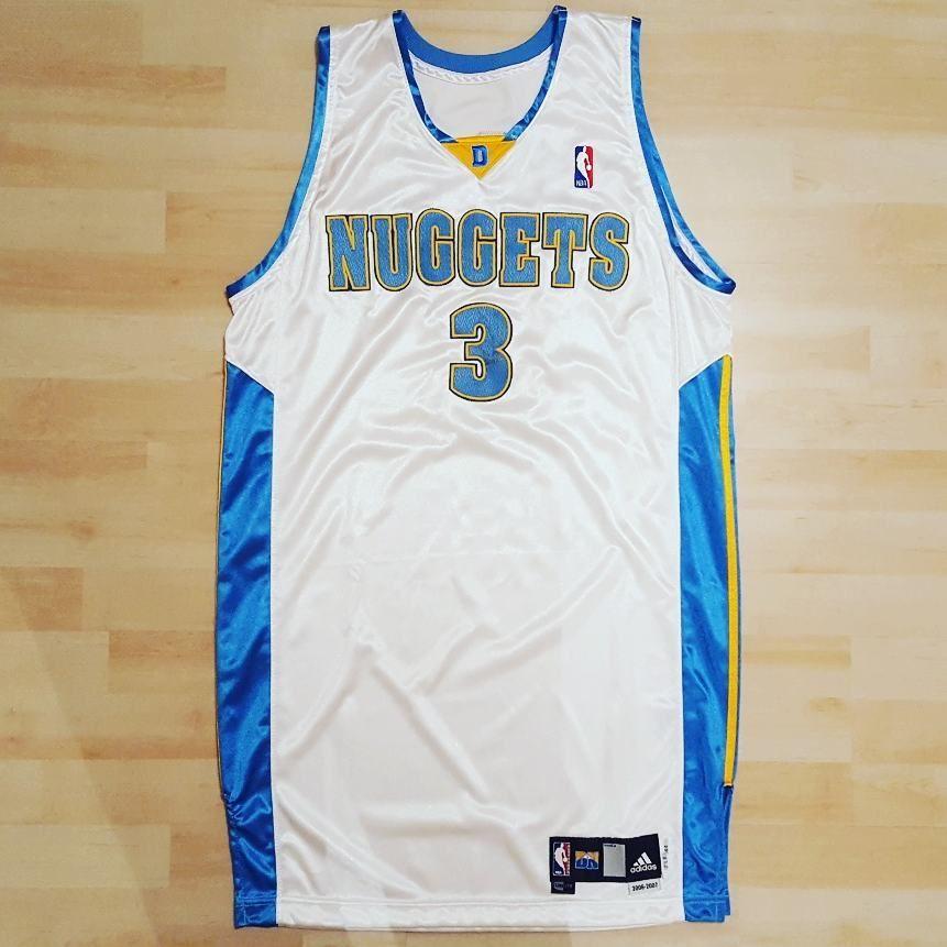 Allen Iverson Denver Nuggets game worn jersey.  alleniverson  denvernuggets   gamewornjersey  gameissued 0d09f0060