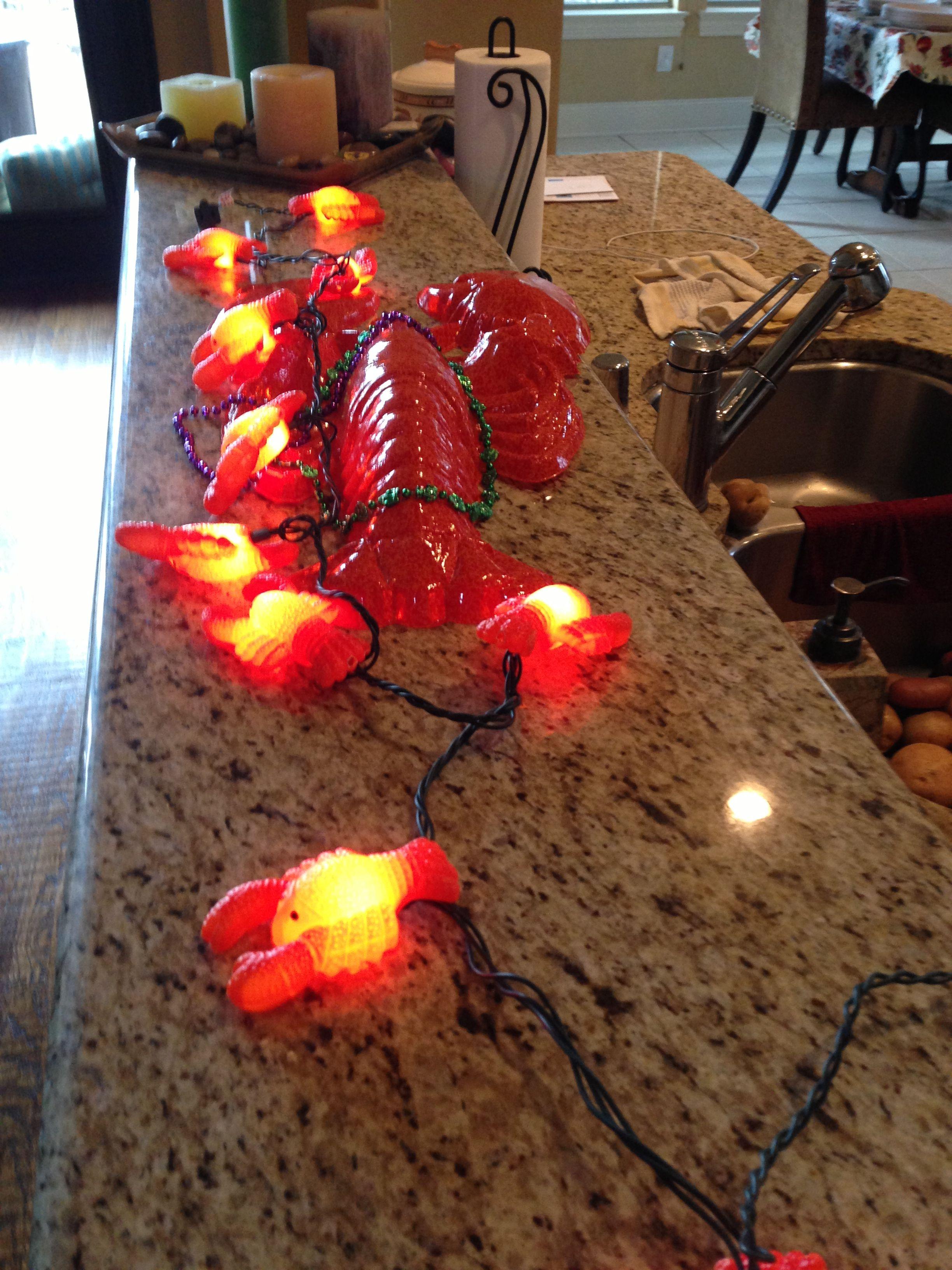 Crawfish boil decoration ideas