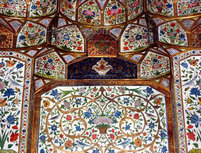 Sheki Shaki Azerbaijan Sheki Khans Palace Muqarnas Islamic Art Armenia Azerbaijan Central Asia