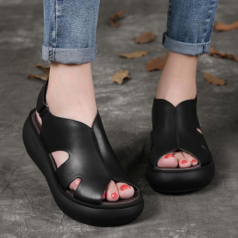Summer Retro Leather Wedges Women Casual Shoes is part of Trending womens shoes, Casual shoes women, Trending shoes, Womens fashion shoes, Sneakers fashion, Cute womens shoes -  FEDEX shipping for order over $180  About the order below $180, The charge standard of the express shipping method you choose is as follow Customs And Import Duty In general,there only be a small number of countries need to clear customs if unfortunately,your order need to clear customs tax,and you need to make a payment again,please contact with us directly first We will do our best to solve the matter for you,please do not worry about it  Customers Service For more shipping information, you could contact us by leaving a message  We will get back to you in 24 hours  Any delivery dates provided by Babakud are estimates  We will send you an email when your order has shipped and you may review your order and shipping & handling information on your Babakud account if you have registered