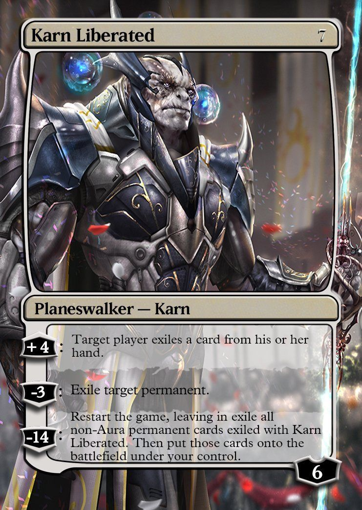 Karn liberated magic the gatering collection