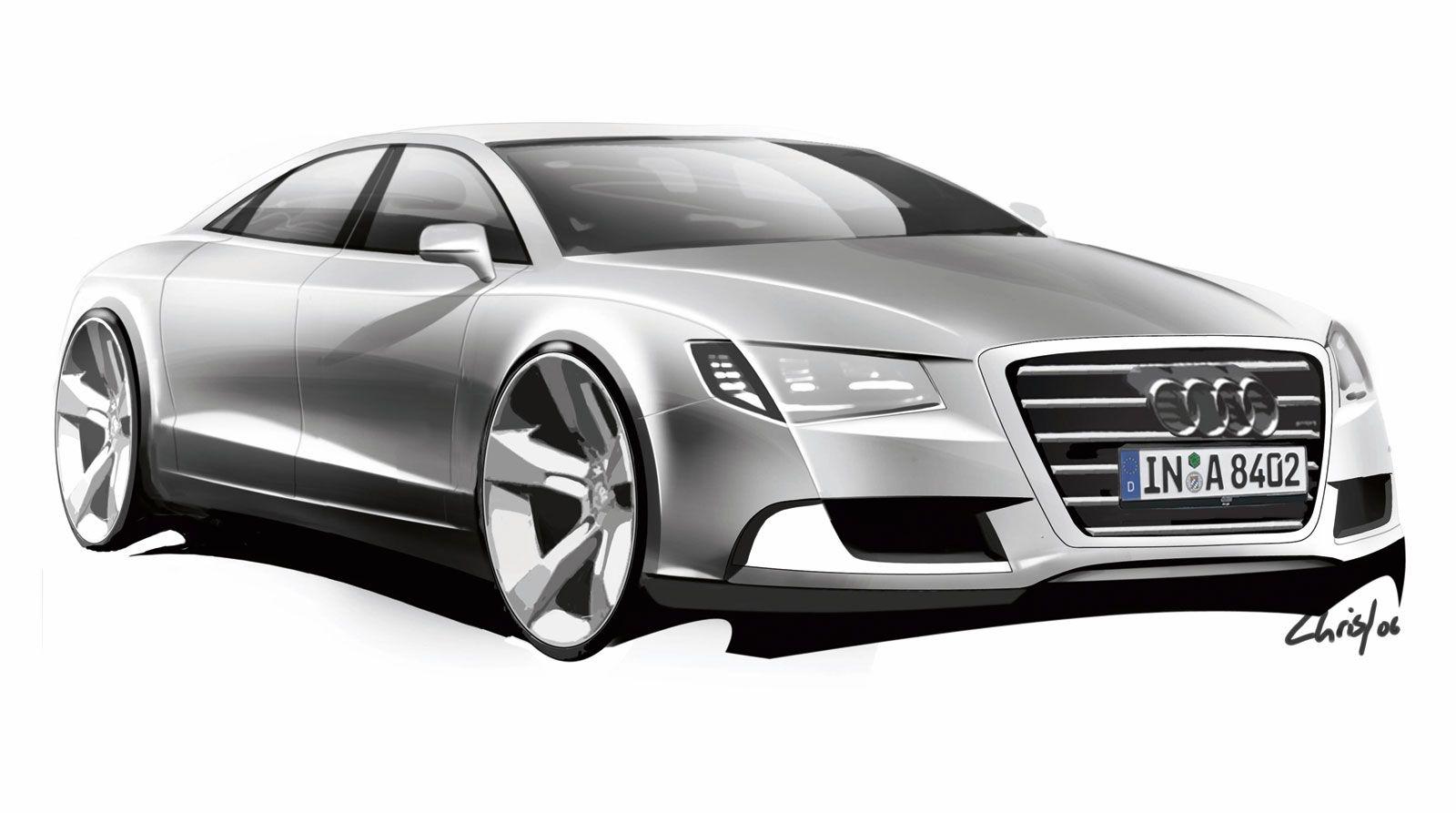 Audi A Design Sketch Sketch Pinterest Audi A - Audi car design