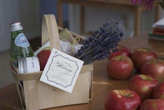 welcome basket ideas. | Tuscan/Italian Wedding Theme | Pinterest ...
