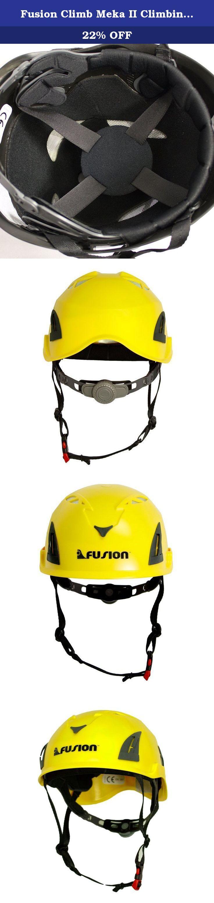 fusion climb meka ii climbing bungee zipline mountain safety