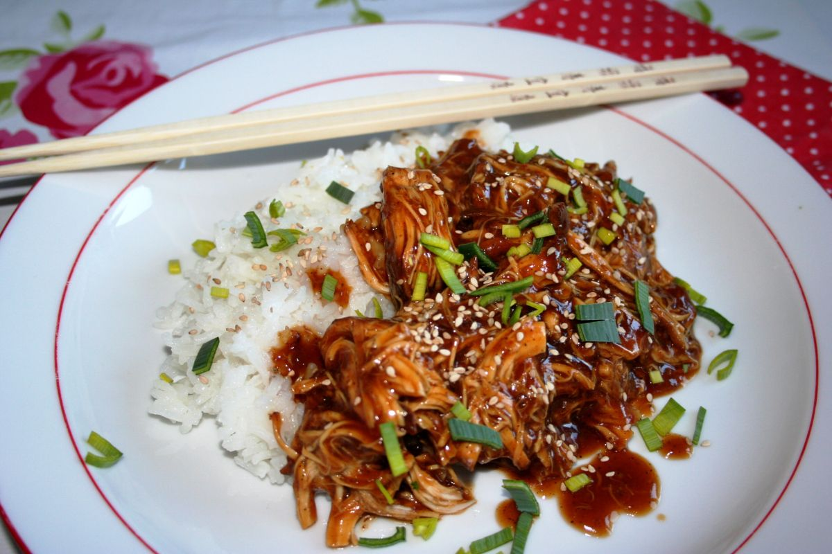 Photo of Teriyaki chicken from the slow cooker