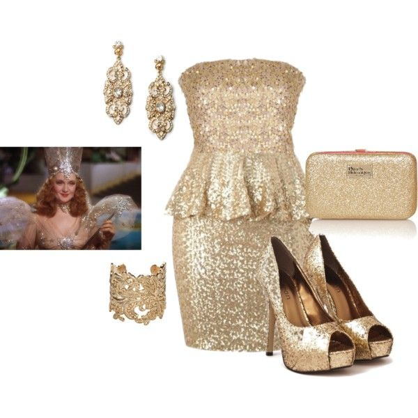 """Glinda the Good Witch"" by somanysparkles on Polyvore"