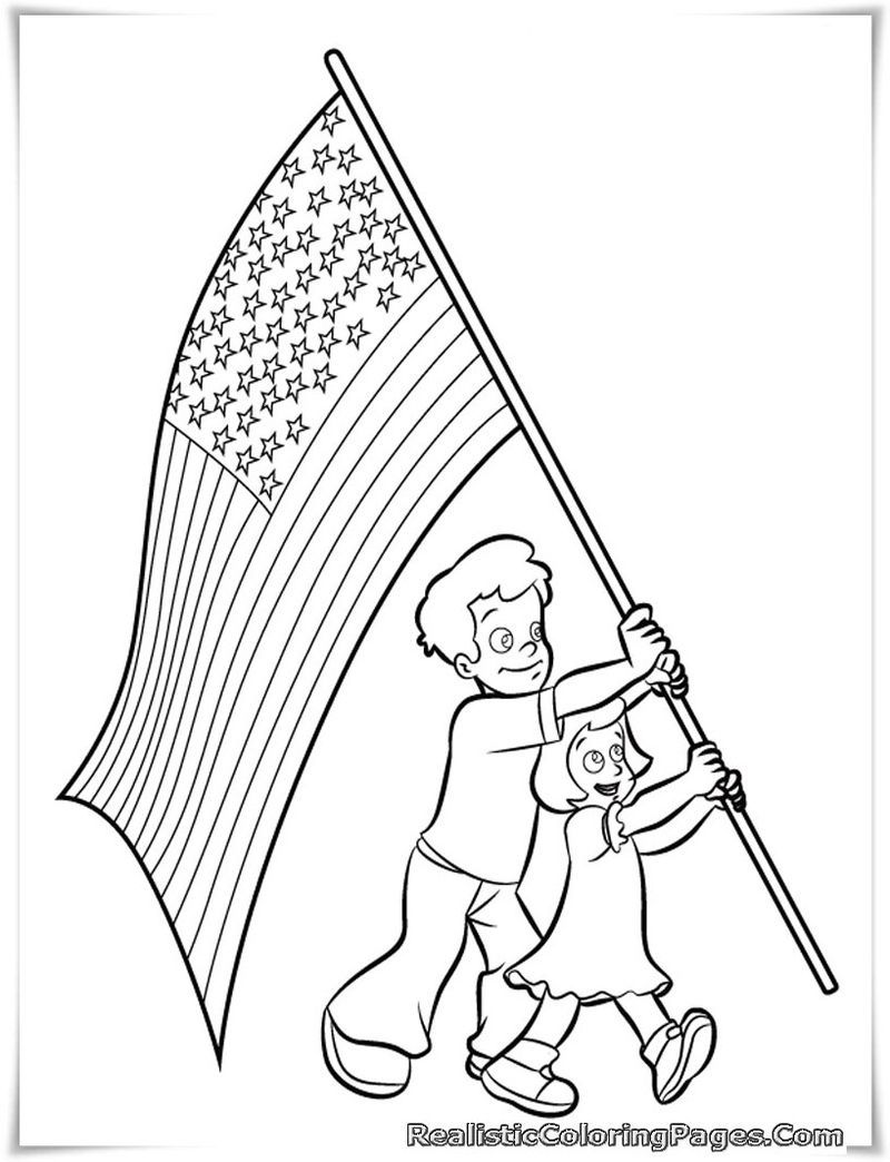 4th Of July Coloring Pages To Commemorate The Independence