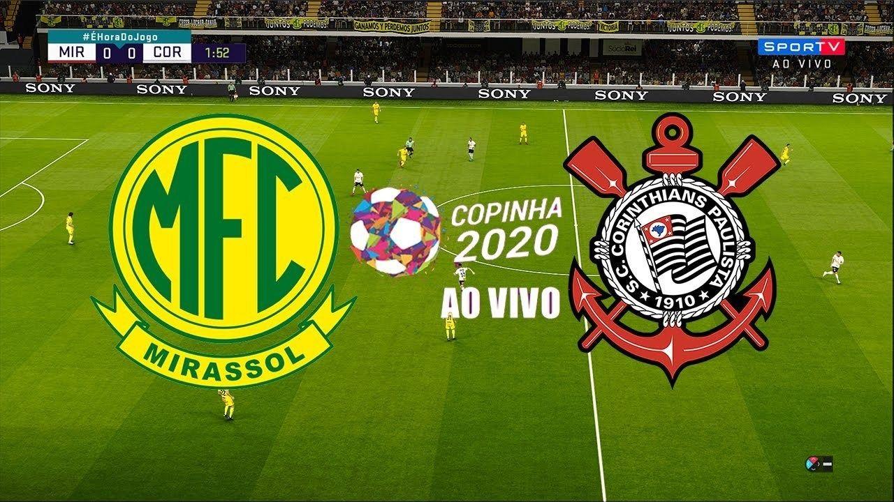 Assistir Jogo Ao Vivo Corinthians X Mirassol Copinha Sao Paulo