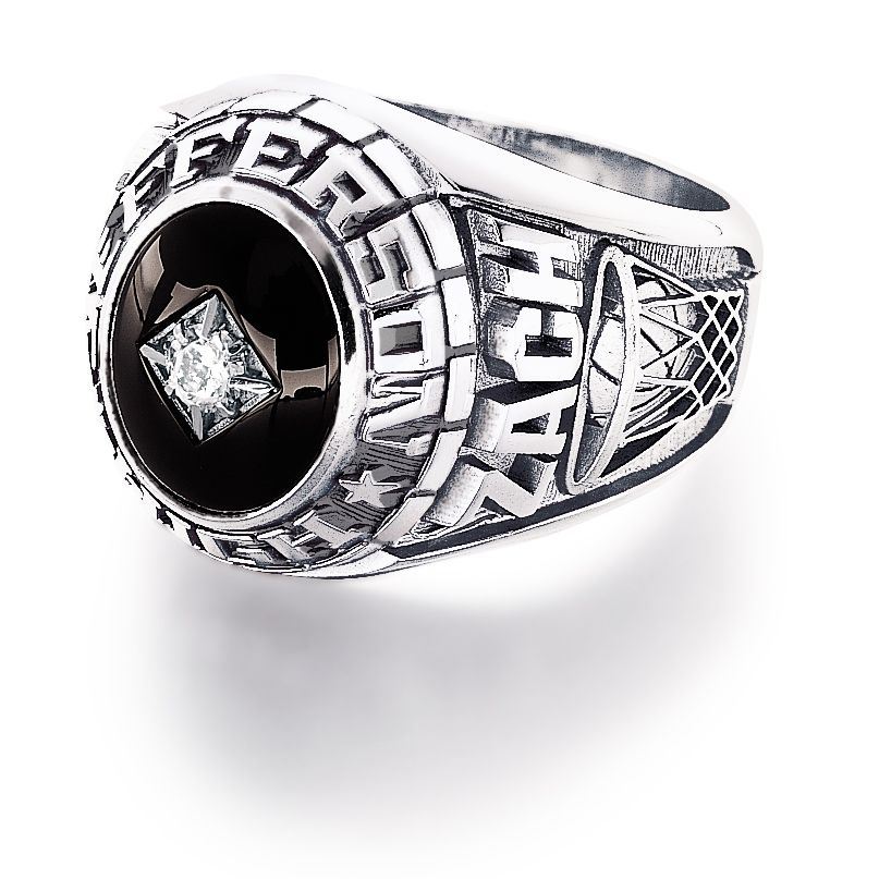 Custom personalized class rings from #Jostens Achiever Collection
