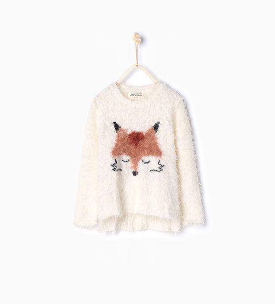 Fox knit sweater