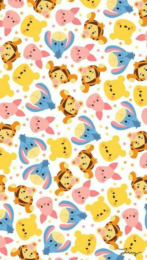 Resultado De Imagem Para Ursinho Pooh Wallpaper พนหลง