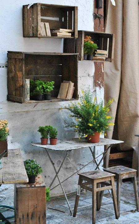 Wooden Shelves For Plants