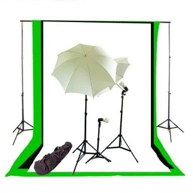Classic Chroma Key Set Up With Images Muslin Backdrops Photo Studio Lighting Backdrops Backgrounds