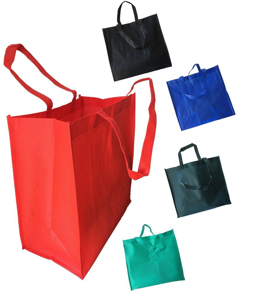 Jumbo Non Woven Promotional Tote Bags made of 80 gm Non-Woven Polypropylene.  This 44f75c67d81cf