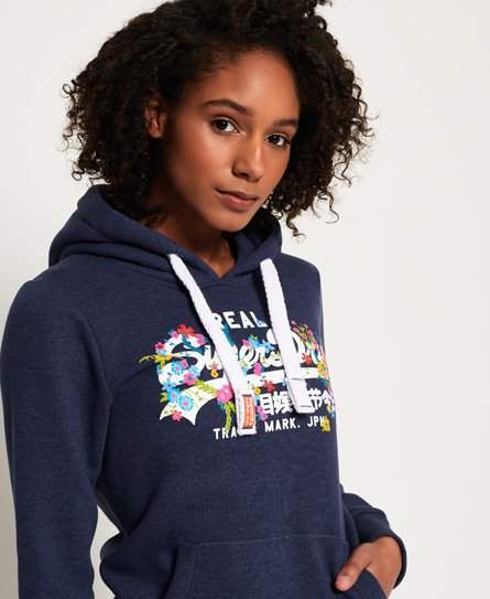 competitive price 7ddec 1a2eb Superdry Vintage Logo Puff Embroidery Hoodie in 2019 ...