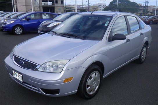 Used 2007 Ford Focus Zx4 Sedan For Sale In Honolulu Hi 96814