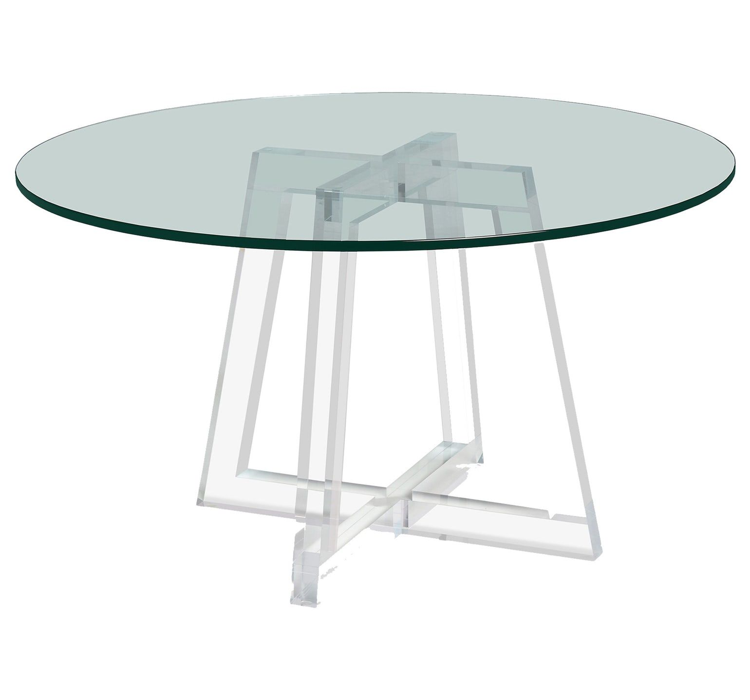 d3eb405bc7a7 Stella Acrylic Dining Table Contemporary