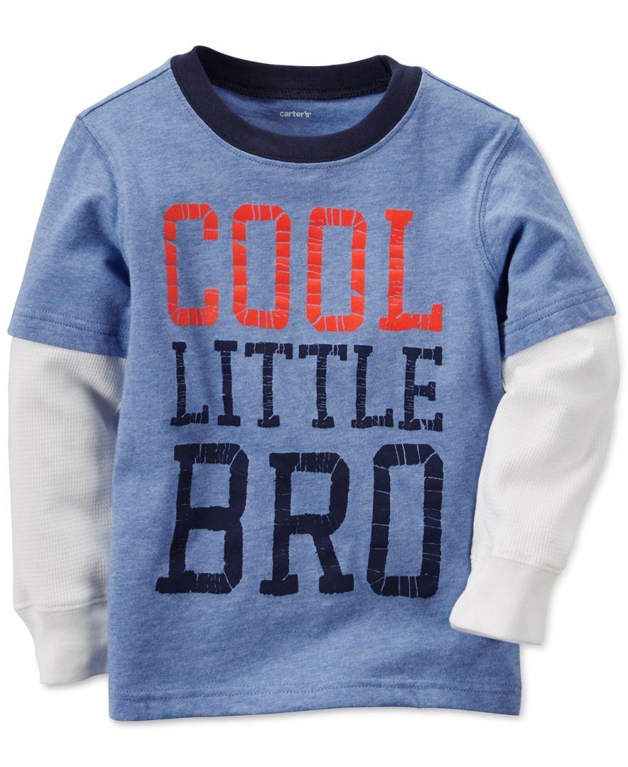 Carter's Toddler Boys' Little Bro Long-Sleeve T-Shirt