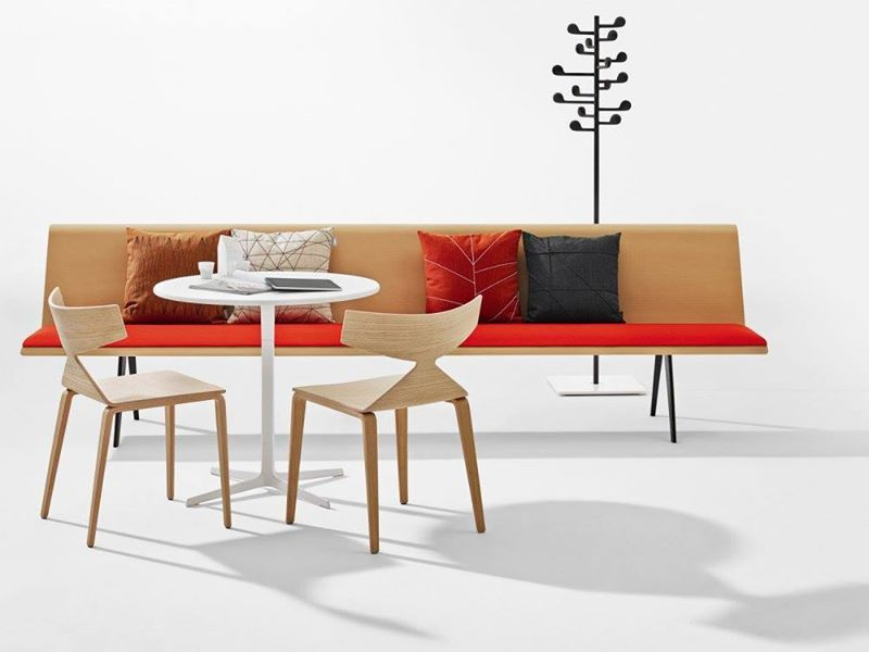 Zinta Modular Sofa System_from Arper / Designed By Lievore Altherr Molina /  2014 Milan Design Week