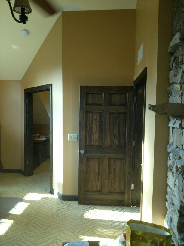 Stained Interior Doors Minwax Oil Stain Ebony In Color Oil Stains, Interior  Doors