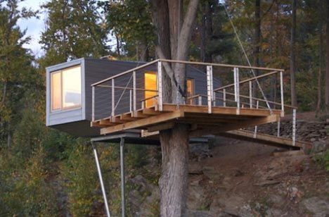 Most Of Us Never Imagined Creative Tree House Designs Akin To Those By  Baumraum.