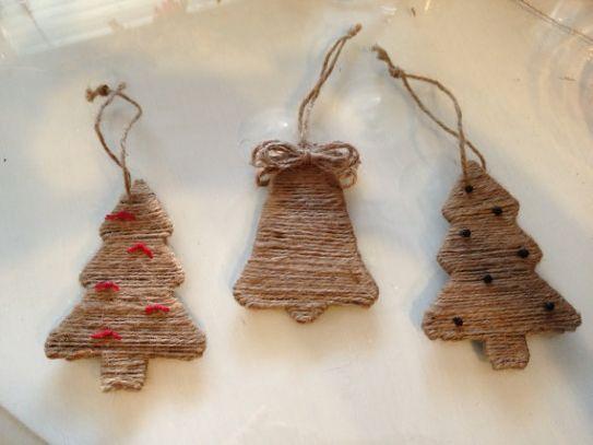 Decorazioni natalizie con lo spago pagina 2 foto gallery for Ornamenti casa