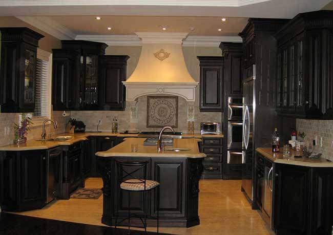 Gothic Style Kitchen | Dark kitchen, Gothic kitchen ...